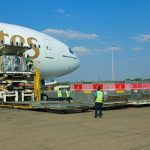 Suspended Boeing 777 freighter service on 25th December 2020
